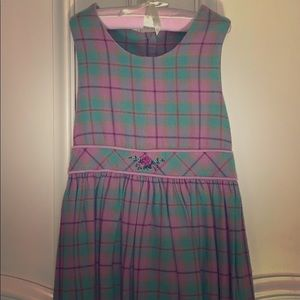 Hartstrings Soft Flannel Dress